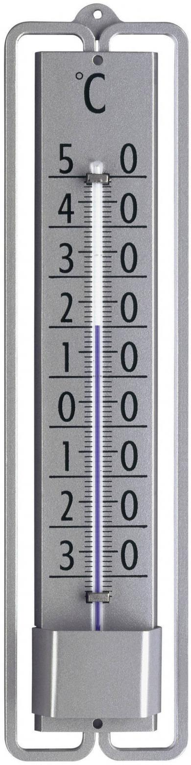 Termometru analogic de perete, gri, TFA 12.2001.54