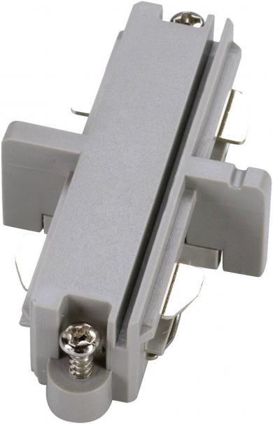Conector longitudinal electric pentru şine înaltă tensiune, SLV, argintiu