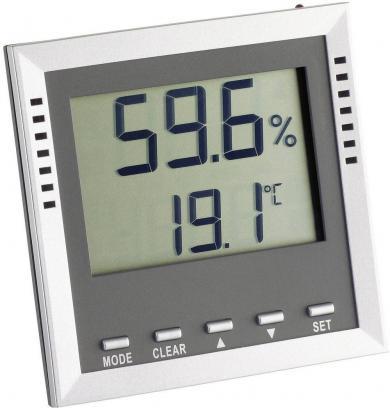 Termohigrometru digital Klima Guard, argintiu, TFA