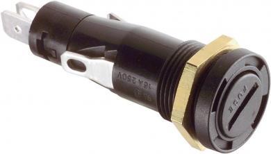 Suport siguranţă 6,3 x 32 mm, 250 V/AC, 16 A, montaj prin înşurubare