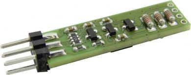 Modul de temperatură I²C Hygrosens cu ieşire analogică TEMOD-I2C-R1, -32… +96 ˚C