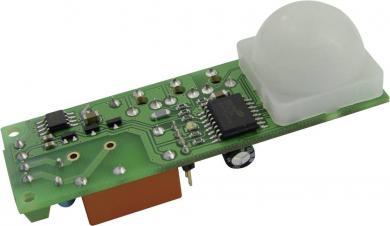 Senzor de lumină PIR cu cronometru Hygrosens, lentilă Fresnell