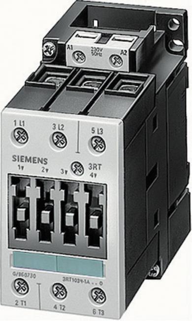 Contactor Siemens S00 3RT1017-1AP01, 230 V, 3 pini, 5,5 kW