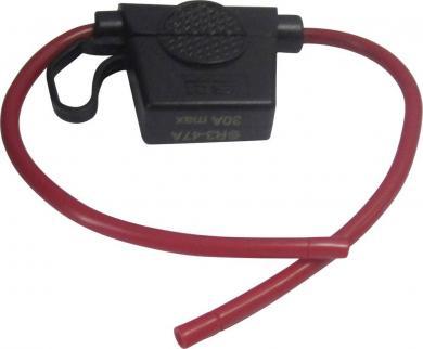 Suport siguranţă plată auto Standard - fără led, 32 V/DC, 30 A
