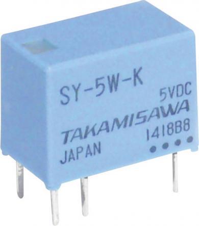 Releu miniatură serie SY Takamisawa SY-05W-K 5 V/DC