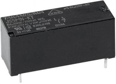 Releu de putere miniatură, seria JS, Takamisawa JS-05N-K 5 V/DC