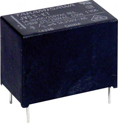 Releu de putere miniatură, seria JV, Takamisawa JV-12S-KT, 12 V/DC, 5 A