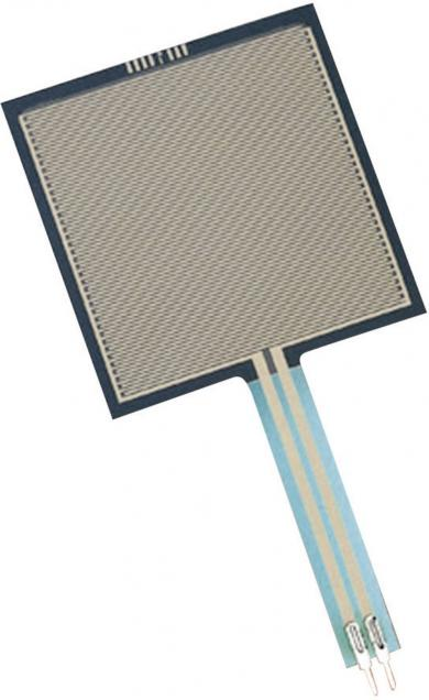 Senzor de presiune FSR-406, 43 x 43 mm, pătrat