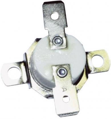 Senzor de temperatură tip 665-97100901, suport de fixare brut, conector plat 6.35 mm/90˚