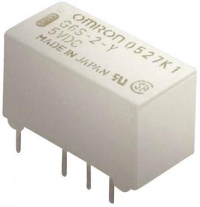 Releu semnal Omrom G6S-2 5 VDC, ultra-îngust