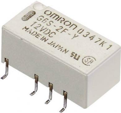 Releu semnal Omrom G6S-2F 12 VDC, ultra-îngust