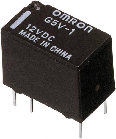 Releu semnal PCB Omrom G5V-1, 1 A, 12 V/DC