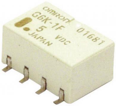 Releu semnal monostabil PCB Omrom G6K-2F-Y, 5 V/DC, 10 µA – 1 A, 2 pini