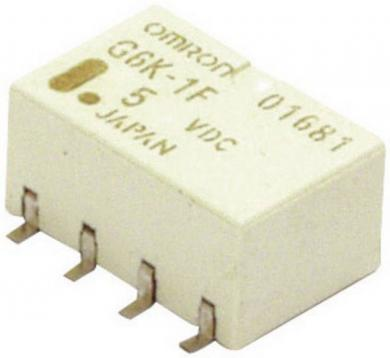 Releu semnal monostabil PCB Omrom G6K-2F-Y, 12 V/DC, 10 µA – 1 A, 2 pini