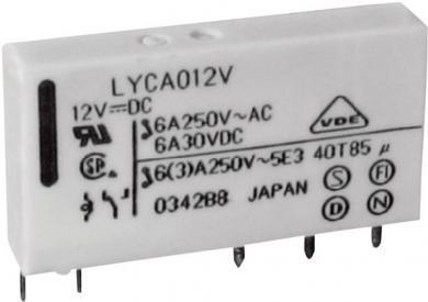 Releu reţea Fujitsu, tip FTR-LYCA024V, 24 V/DC