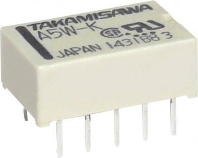 Releu subminiatură plat Takamisawa A24WK24V 24 V/DC