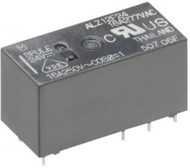 Releu de putere ALZ 16 A, circuit imprimat, Panasonic ALZ12F24, 24 V/DC