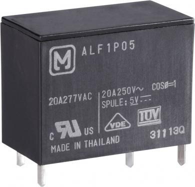 Releu de putere ALF 20 A, circuit imprimat, Panasonic ALF1P05, 5 V/DC