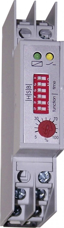 Releu de timp multifuncțional, 24 - 230 V/AC, 1 contact inversor, 8 A, HSB Industrieelektronik ZMR 1
