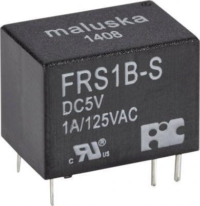 Mini-releu, 1 contact de comutare, etanş (lavabil), tip FRS1B-S-DC12, 12 V/DC