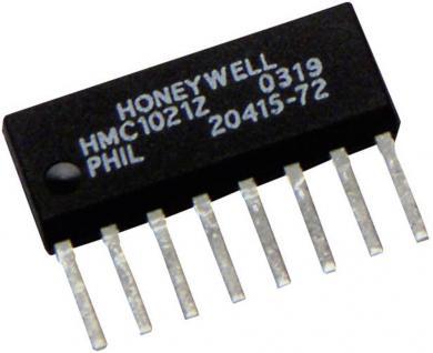 Senzor efect Hall magnetorezistiv tip HMC1051Z, 1 axă, carcasă SIP 8, domeniul de măsurători ±477,462 A/m