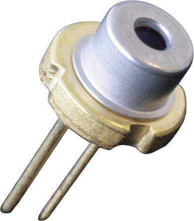 Diodă laser CW tip U-LD-651071A, 10 mW, lungime de undă 655 nm