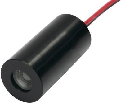 Mini-modul diodă laser IMM-1020-650-1-E-K, 3 - 5 V, roşu