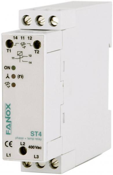 Releu control fază şi temperatură, Fanox ST4