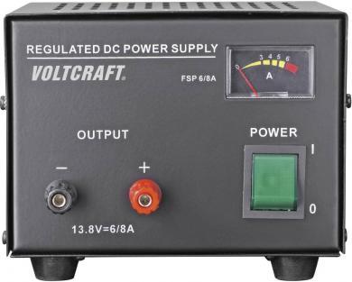 Sursă de alimentare liniară pentru laborator Voltcraft FSP-1336, 13,8 V/DC / 6 A / 85 W