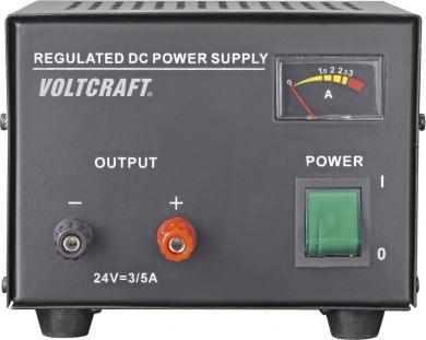 Sursă de alimentare liniară pentru laborator Voltcraft FSP-1243, 24 V/DC / 3 A / 72 W