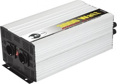 Invertor sinusoidal e-ast HighPower HPL 3000-12, 3000 W, 12 V/DC (11 - 15 V) - 230 V/AC