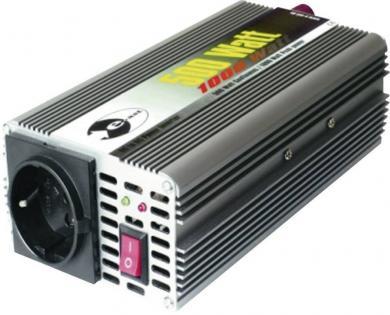 Invertor undă sinusoidală modificată 24 V/DC, 500 W, e-ast CL500-24