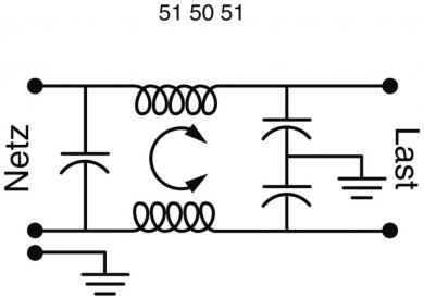 Soclu alimentare tată IEC cu filtru Yunpen, 2 x 0,3 mH, 10 A