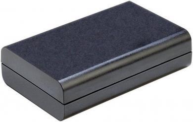 Carcasă plastic Strapubox, neagră, 123 x 30 x 70 mm