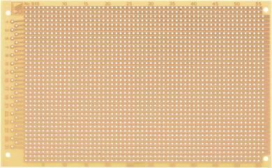 Placă experimentală WR 915, pertinax, 160 x 100 x 1.5 mm