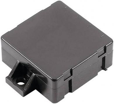 Modul carcasă mică Strapubox, plastic ABS, negru
