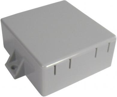 Modul carcasă mică Strapubox, plastic ABS, gri