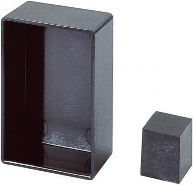 Modul carcasă goală OKW, 20 x 20 x 38 mm, negru