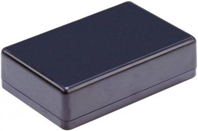 Modul mini-carcasă Strapubox, plastic ABS, negru, 85 x 50 x 22 mm