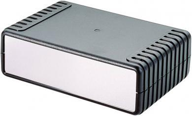 Carcasă universală ABS (L x l x Î) 220 x 145 x 70 mm, negru, Strapubox 7041
