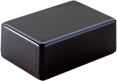 Carcasă plastic Strapubox, rezistentă la șocuri, neagră, 72 x 50 x 26 mm