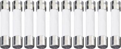 Siguranţă 6,3 x 32 mm rapidă (F), curent 0.25 A, 250 V, colet 10 bucăţi