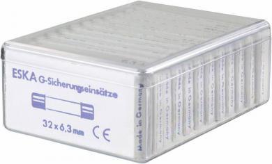 Set siguranţe 6,3 x 32 mm, rapide -F-, 120 bucăţi