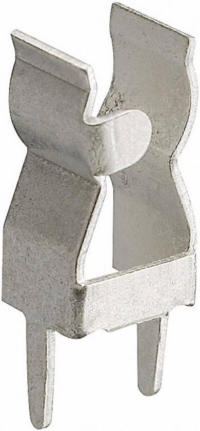 Capac de fixare pentru siguranţe G, 250 V/AC, 6,3 A, versiune 1208 (conexiune transversală PCB), sunt necesare două bucăţi per siguranţă