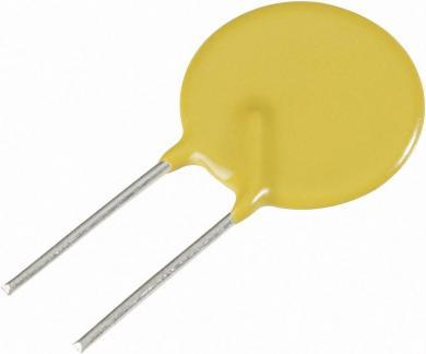 Siguranţă PTC ESKA, 0.75 A, 60 V, 10.7 x 3.1 x 23.1 mm
