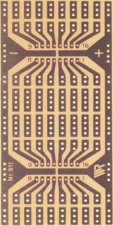 Placă experimentală WR 911, 110 x 80 x 1.5 mm