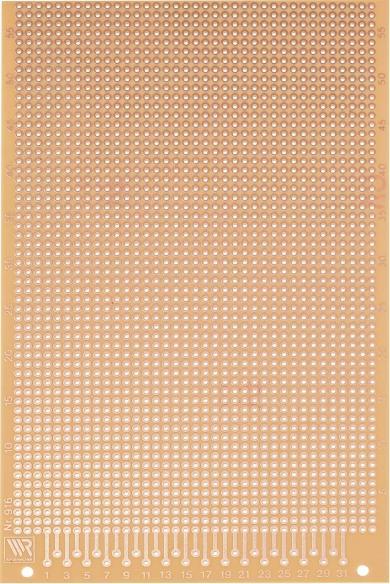 Placă experimentală WR 916, 160 x 100 x 1.5 mm