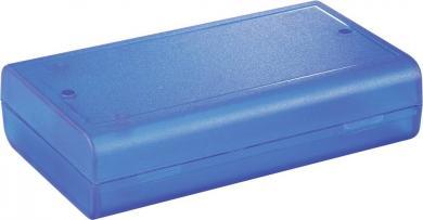 Carcasă universală cu puncte de fixare pe plăci electronice, 186 x 123 x 41 mm, albastru