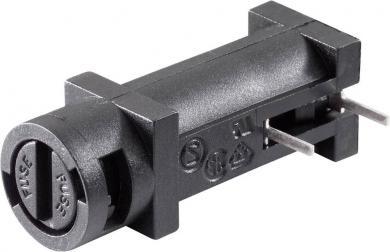 Suport siguranţă 5 x 20 mm Eska Bulgin tip FX0457, orizontal