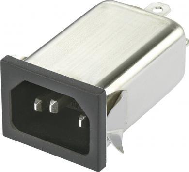 Filtru de reţea 250 V/AC Yunpen, YO06T1, 2 x 0,7 mH, 6 A